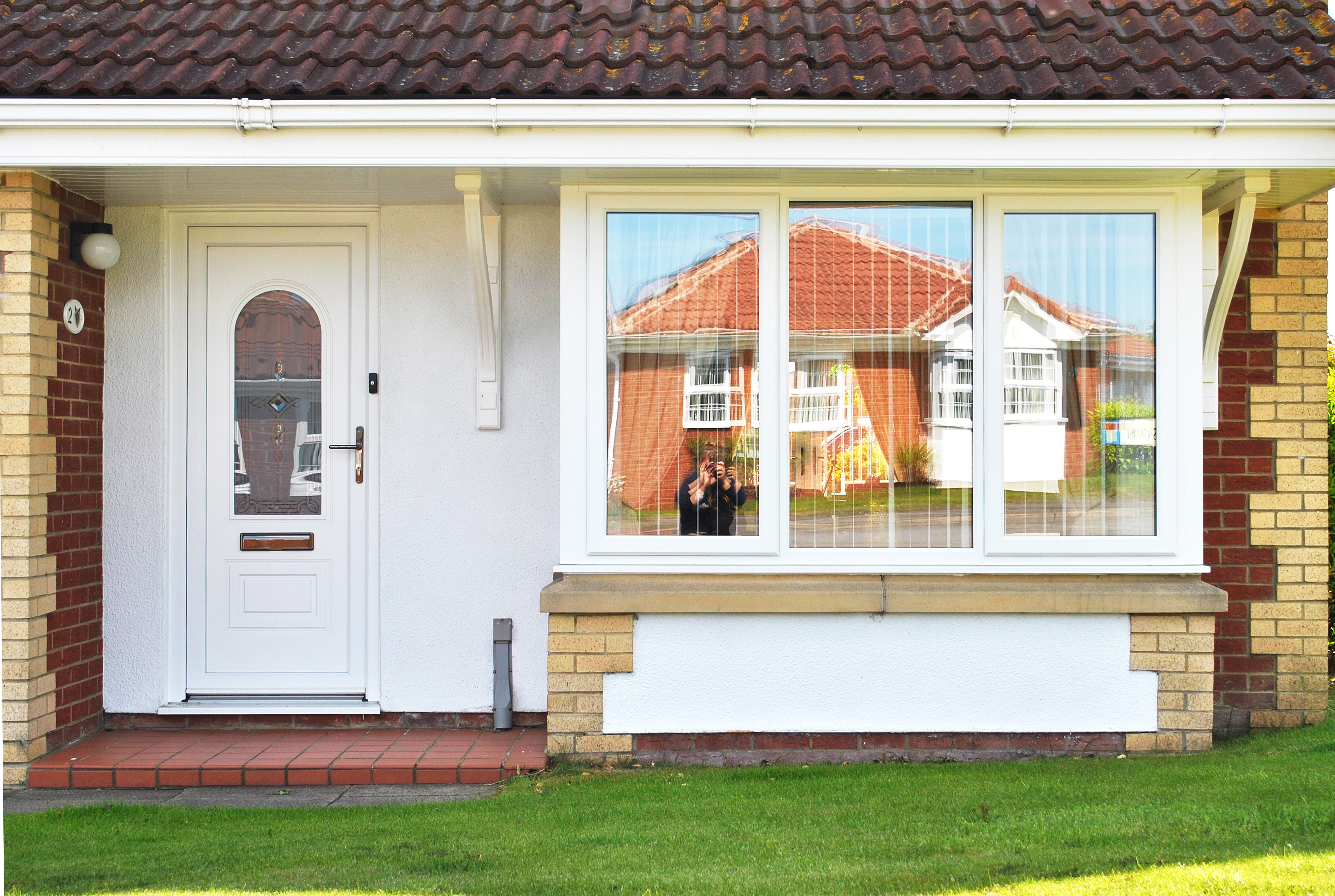 White Casement and Bay Windows