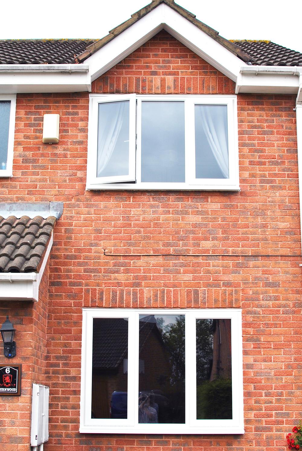 White UPVC Window Installation in Teesside - Middlesbrough