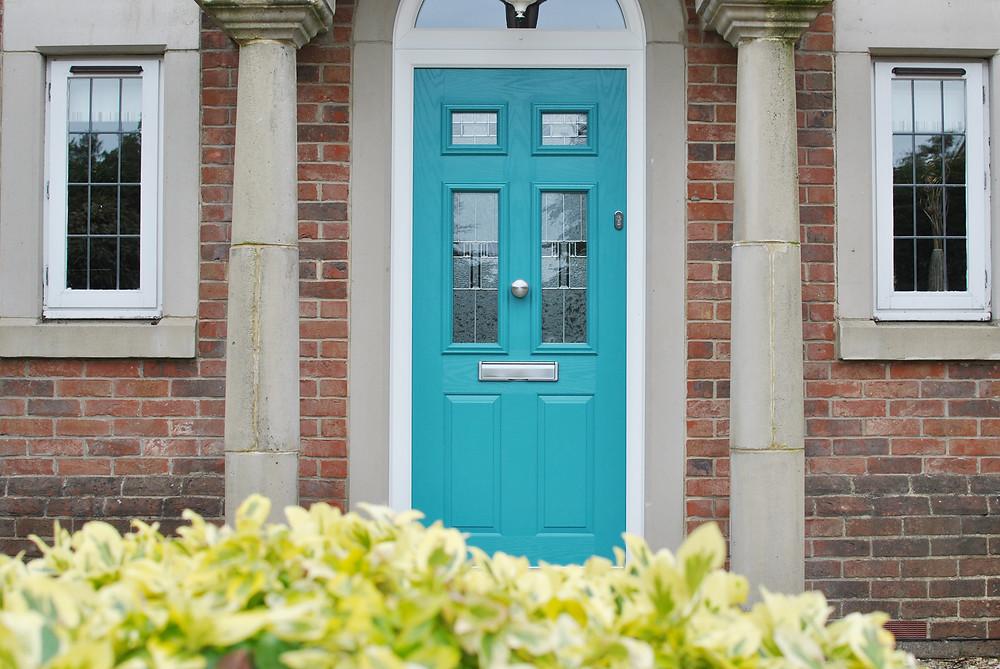 Coloured composite door in Teesside, middlesbrough, redcar, lazenby, skelton, durham, darlington, marske, yarm, northallerton, stokesley