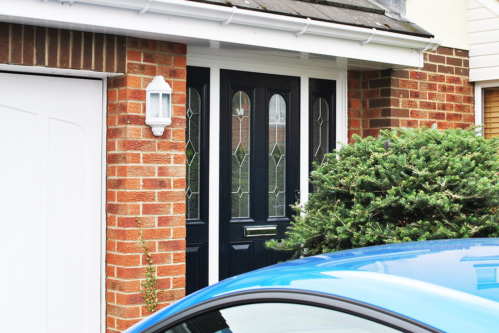Blue Composite Door - Middlesbrough - Redcar - Darlington - Marske - Saltburn