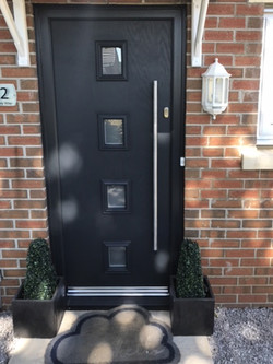 Anthracite Composite Door