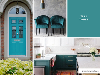Inspiration of the Week: Teal & Peacock Green