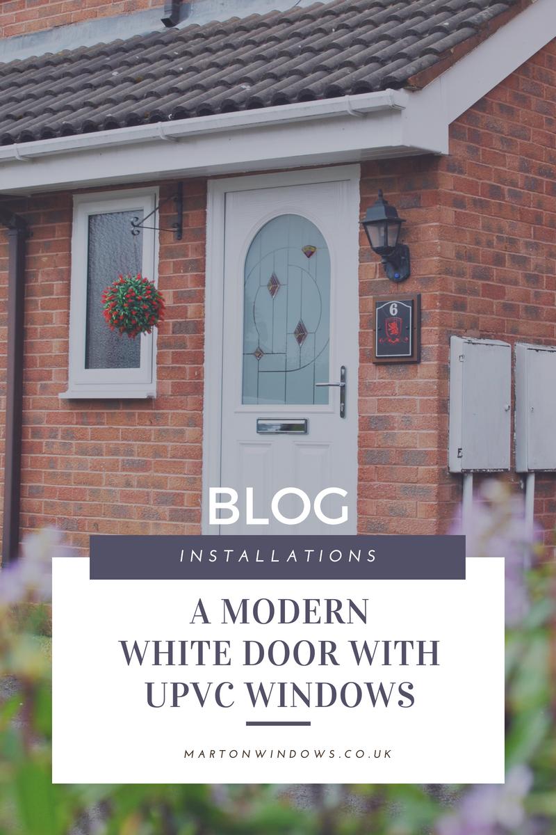 White Composite Door Installation - Middlesbrough - Teesside