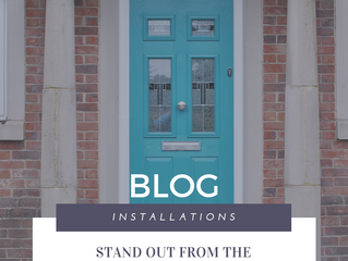 Installation of the Week: Stand out from the crowd, A Peacock Green Composite Door