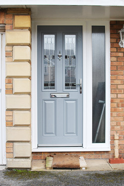 Grey Composite Door Cottage Style