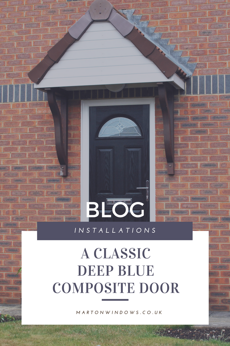 Black Composite Door Installation and Full Home of Windows - Marton Windows - Installation of the Week - Home Improvements Blog