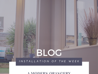 Installation of the Week: A Beautiful Orangery with LivinROOF Systems