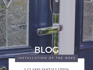 Installation of the Week: A Classy Installation with Conexis Keyless Yale Locking System