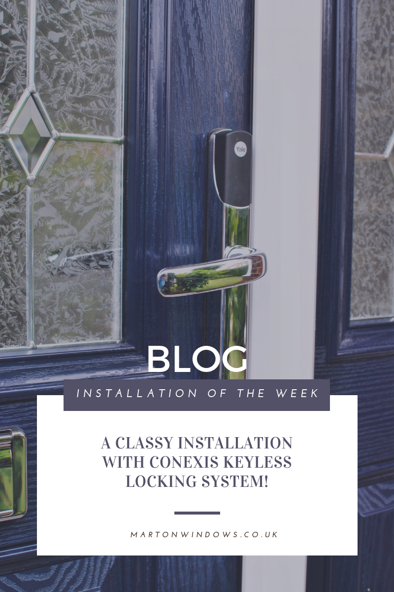 Composite door - Yale - Security - keyless - Locking System