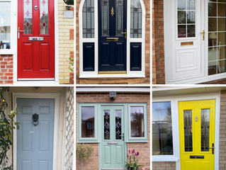 What does the colour of your door say about you?