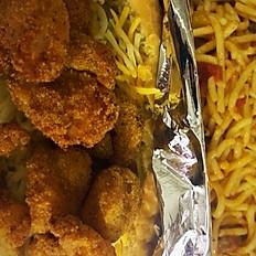 Shrimp Po'Boy Sandwich (includes Fries)
