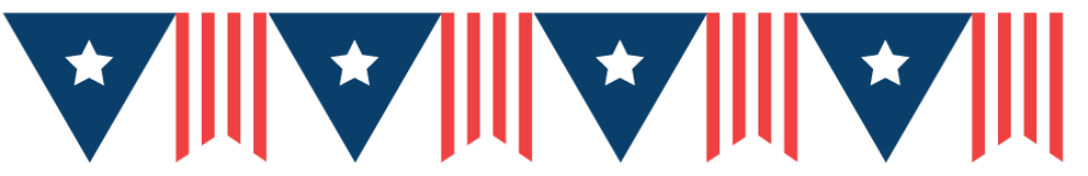Independence Day Bunting