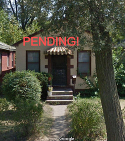 PENDING! Brick ranch with 2 bedrooms with possibility for a third. 1 mile to Indiana University NW