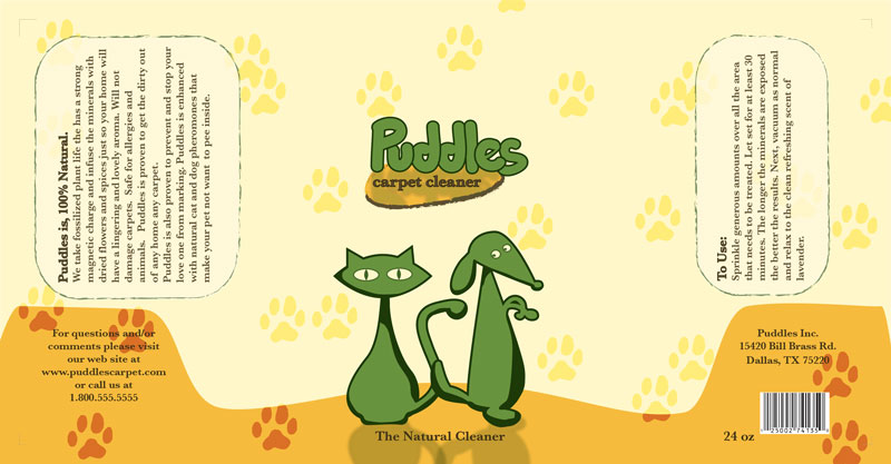 Puddles Lable