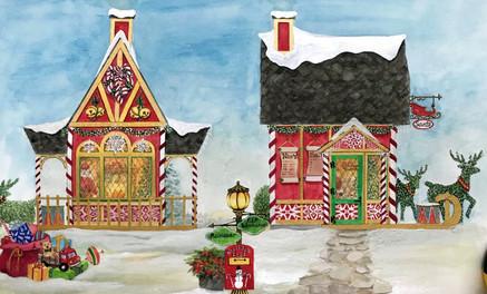 Santa Haus Design