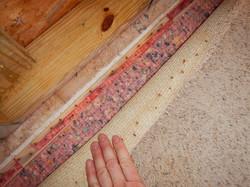 Carpet Tack Strip Staining