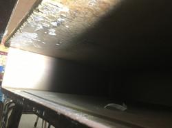 Mold Growth inside School desk