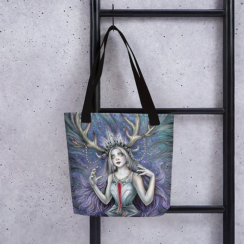 Snow Queen, Witch of Winter Tote bag