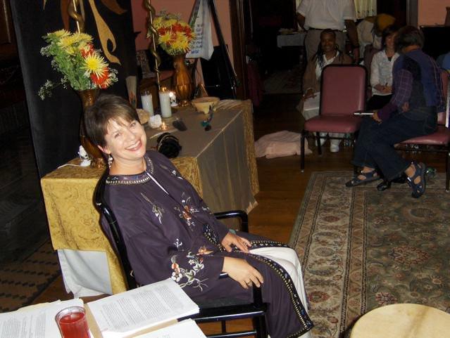Aeptha teaching at the New SEED Sanctuary, Philadelphia, PA