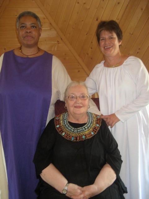 Katrina Messenger, Dolores Ashcroft-Nowicki and Aeptha