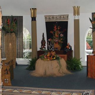 Shakmah Winddrum Ritual set-up