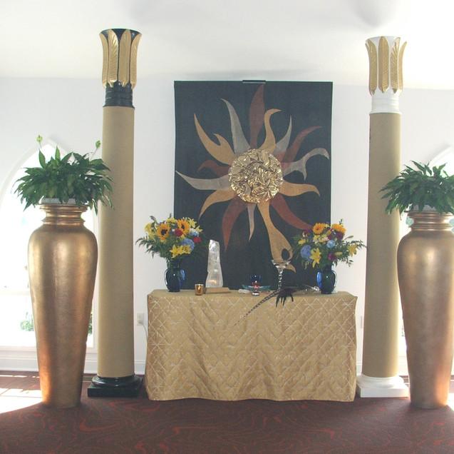 Solar altar