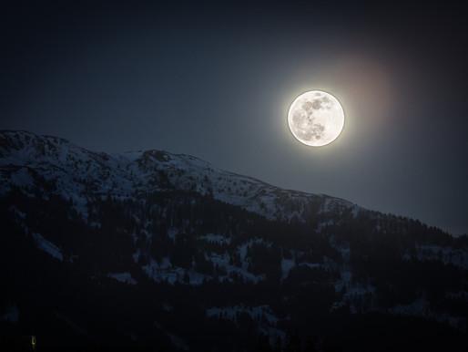 ירח סופר מלא בבתולה! תחזית קרובה 6.3 - 12.3