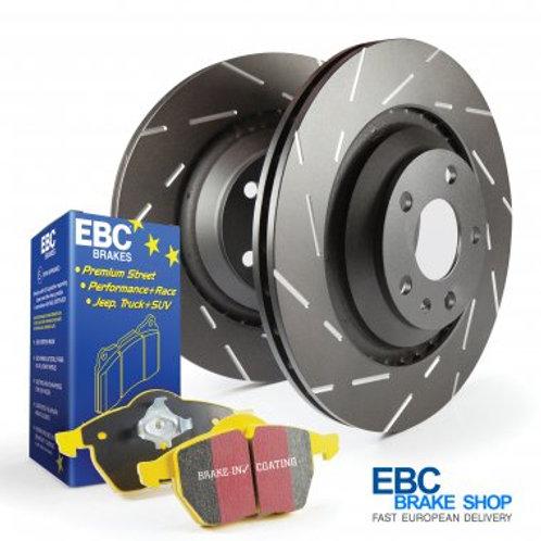 Abarth 500 EBC PD08KR Rear Brake Kit
