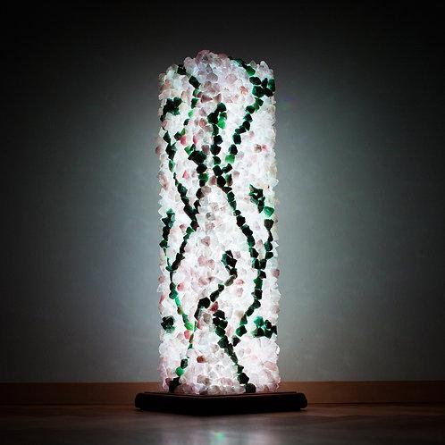 """Kristallilamp """"Armastuses kasvamine"""""""