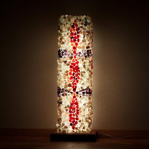 """Kristallilamp """"Elujõu leek"""""""