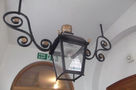 Oil Lantern, Old Royal Naval College, Greenwich