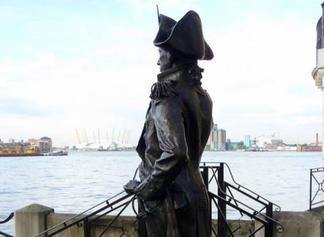 Admiral Horatio Nelson statue, Trafalgar Tavern, Greenwich