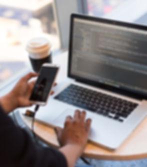 Programmierung am Macbook und schreiben