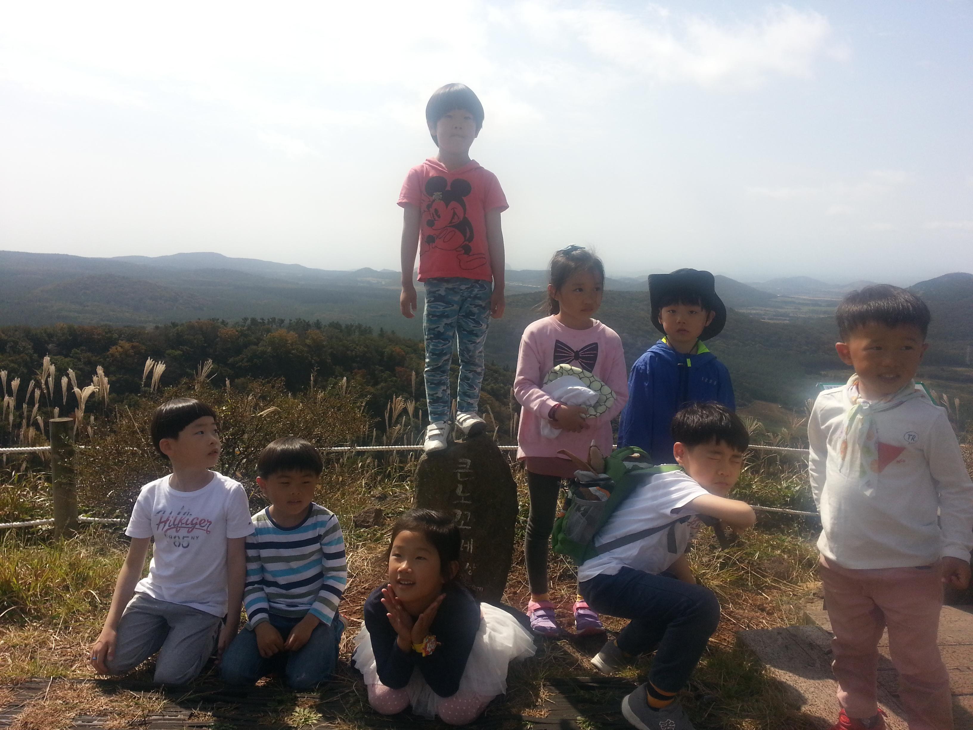 여행지_노꼬메오름정상