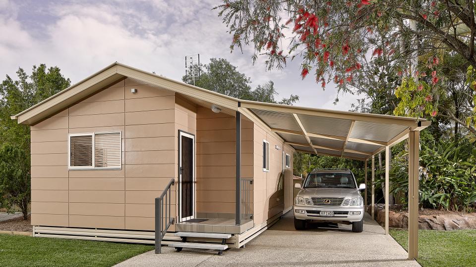 Corporate-Cabin - Premium - Exterior