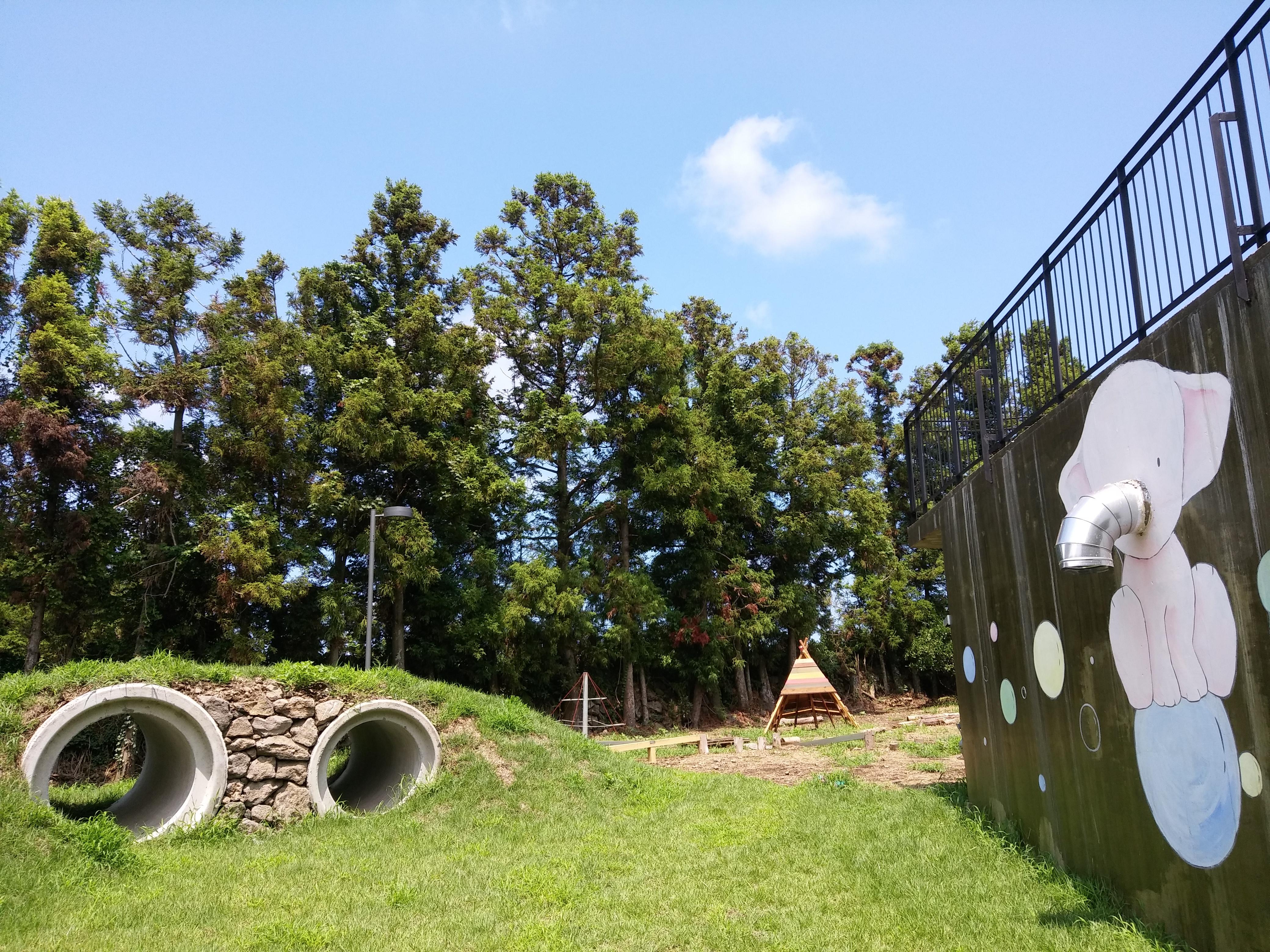 조랑말광장 뒷동산 터널