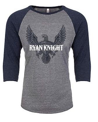 Ryan Knight Tri-blend Baseball Tee