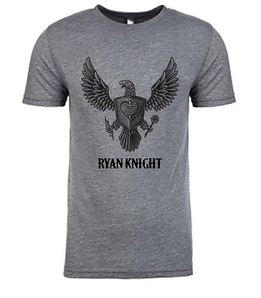 Ryan Knight Grey Tri-blend Tee