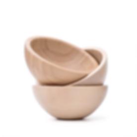 Three-Wooden-Bowls
