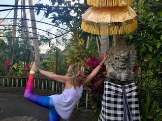 Sending Rainbows from Bali