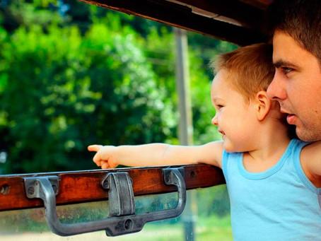 Поездка с маленьким ребенком в поезде