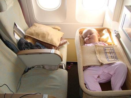 Перелет в самолете с младенцем