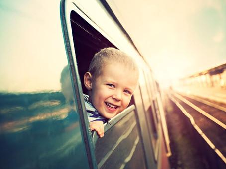 Можно ли отправить ребенка одного на поезде?