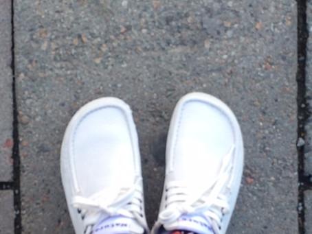 Short story: loosen laces