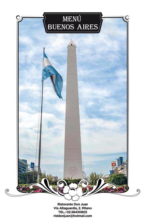 Menu Buenos Aires