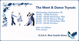The Meet & Dance Tryouts