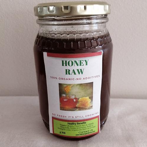 Honey Raw 325ml From