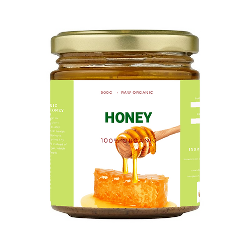 Honey Raw 325ml From