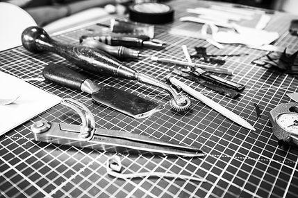 outils maroquinier