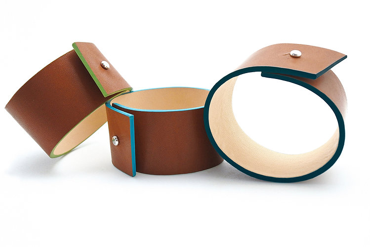 Bracelets en cuir Panache